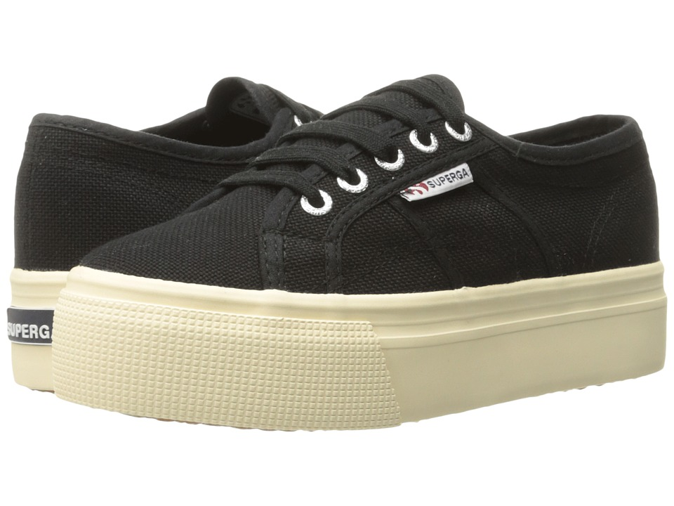Superga - 2790 Acotw (Black/White Foxing) Women