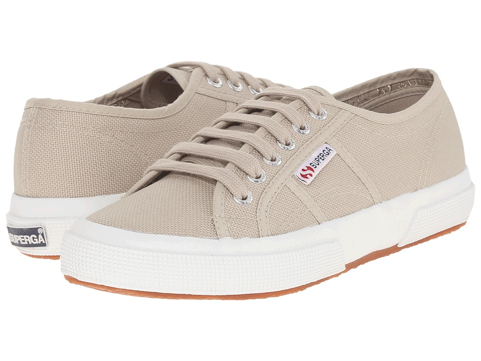 Superga - 2750 COTU Classic (Taupe) Lace up casual Shoes
