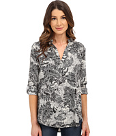B Collection by Bobeau - Printed Blouse