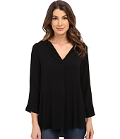 B Collection by Bobeau - V-Neck Blouse