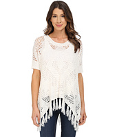 Bobeau - Fringe Tape Yarn Sweater