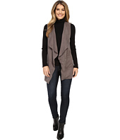 B Collection by Bobeau - Sleeveless Woven Blazer