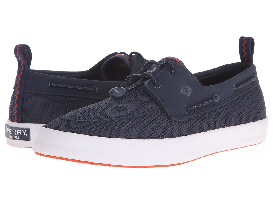 Sperry Top Sider Flex Deck Boat Navy Mens Lace up casual Shoes