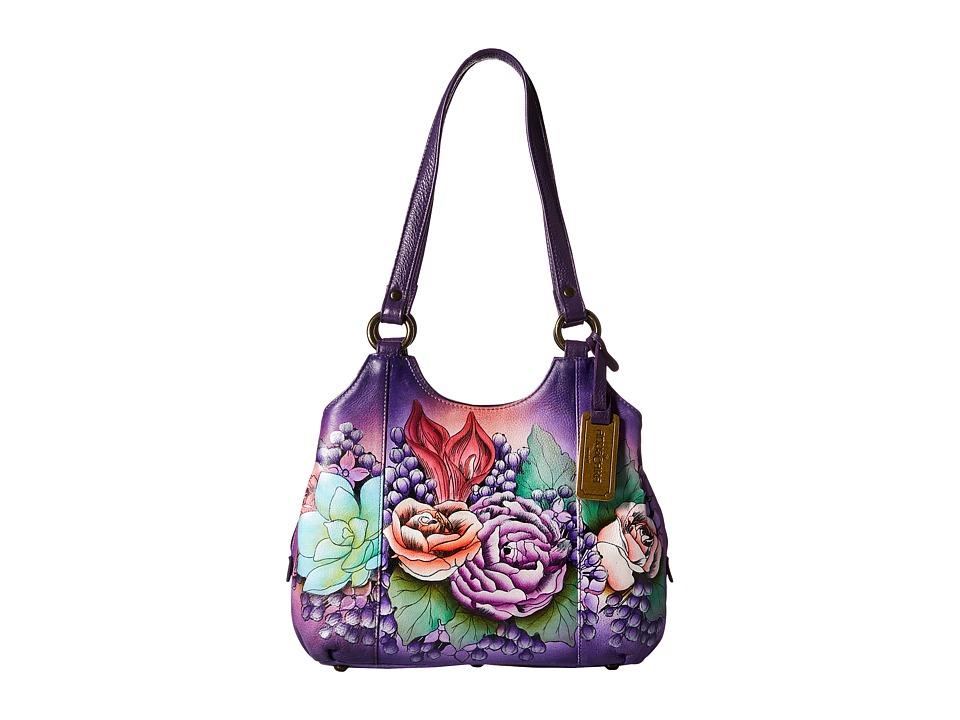 Anuschka Handbags - 469 (Lush Lilac) Handbags