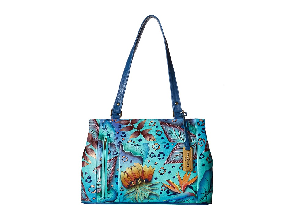 Anuschka Handbags - 449 (Tropical Dream) Handbags