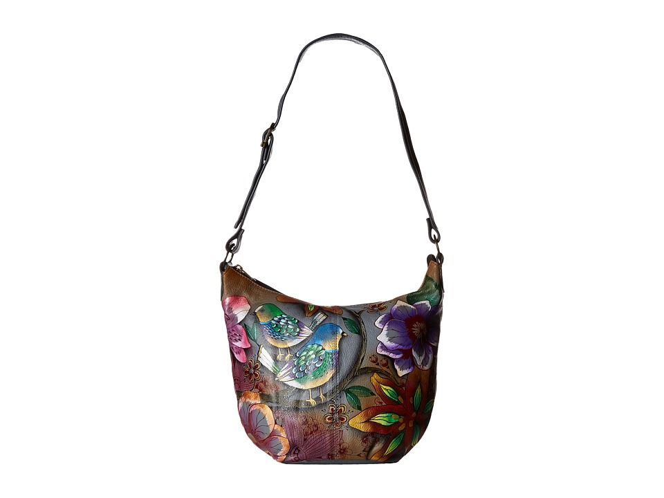 Anuschka Handbags - 471 (Blissful Birds) Handbags