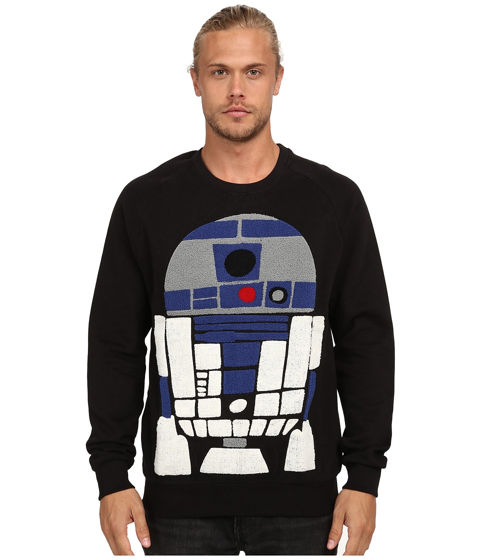 Eleven Paris R2D2 Mido Fleece Sweatshirt Black Mens Sweatshirt