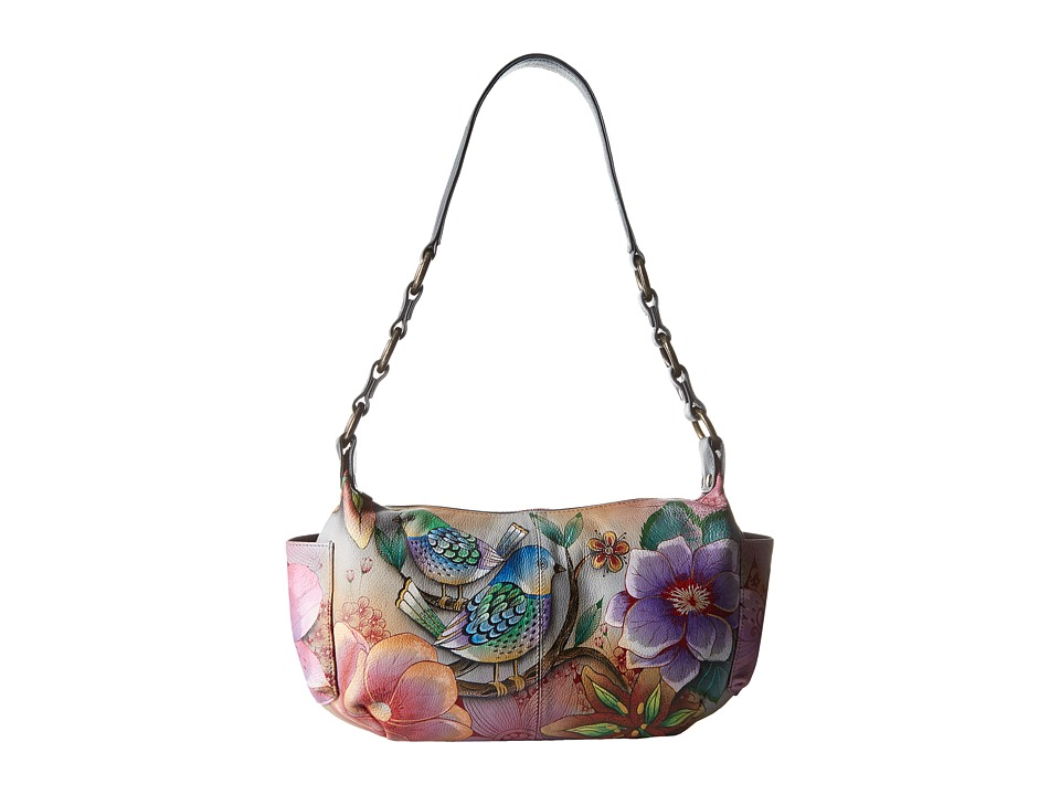 Anuschka Handbags - 506 (Blissful Birds) Shoulder Handbags