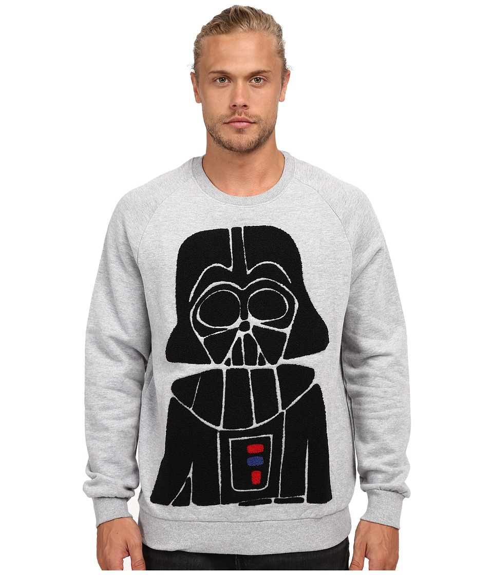 Eleven Paris Darth Vader Mido Fleece Sweatshirt Grey Mens Sweatshirt