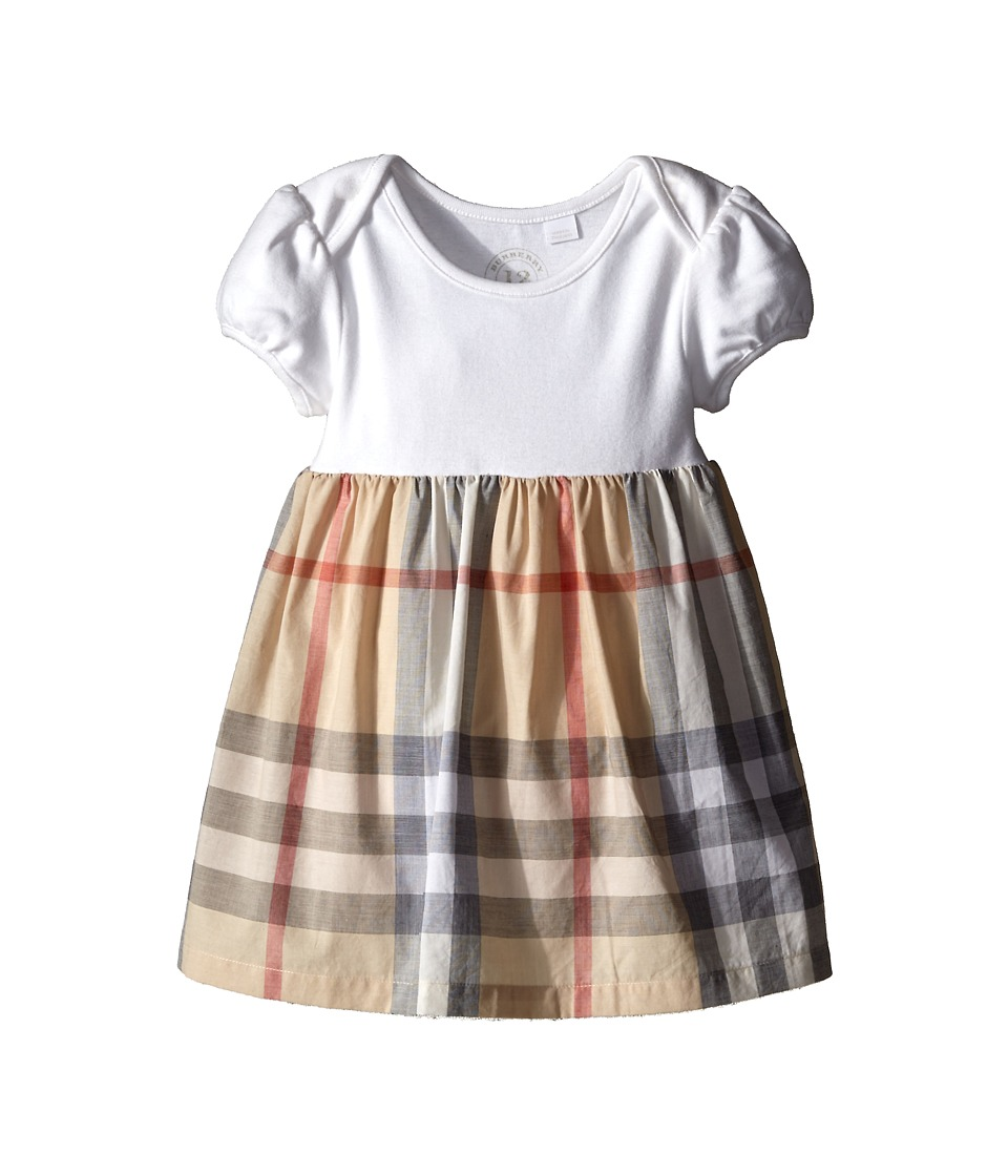 Burberry Kids - Cherrylina Dress (Infant) (Pale Classic Check) Girls Dress