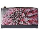 Anuschka Handbags 1114 (Dreamy Dahlias Pink)