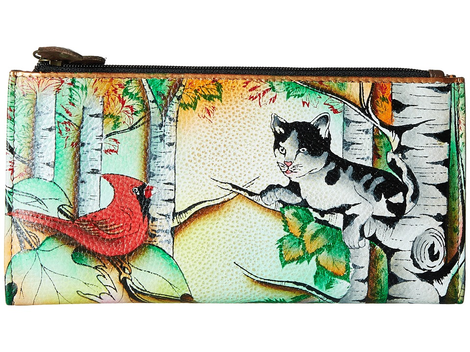 Anuschka Handbags - 1121 (Country Cat) Handbags
