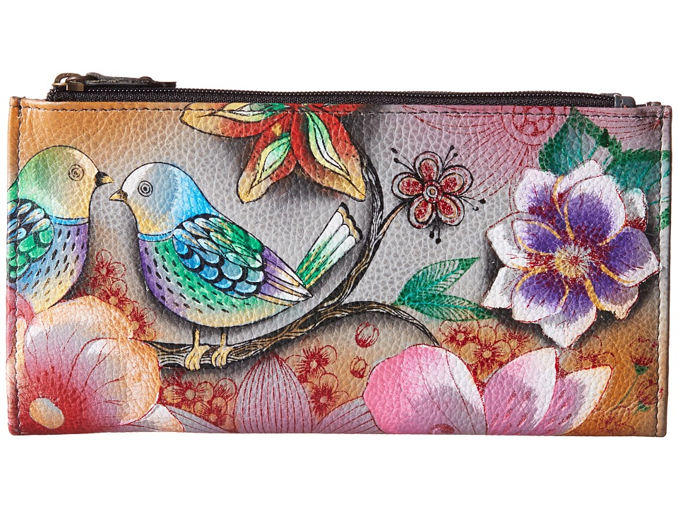 Anuschka Handbags - 1121 (Blissful Birds) Handbags