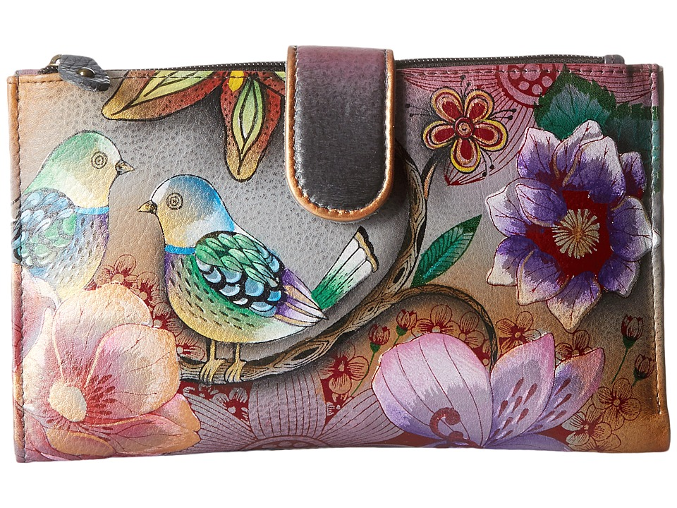 Anuschka Handbags - 1113 (Blissful Birds) Handbags
