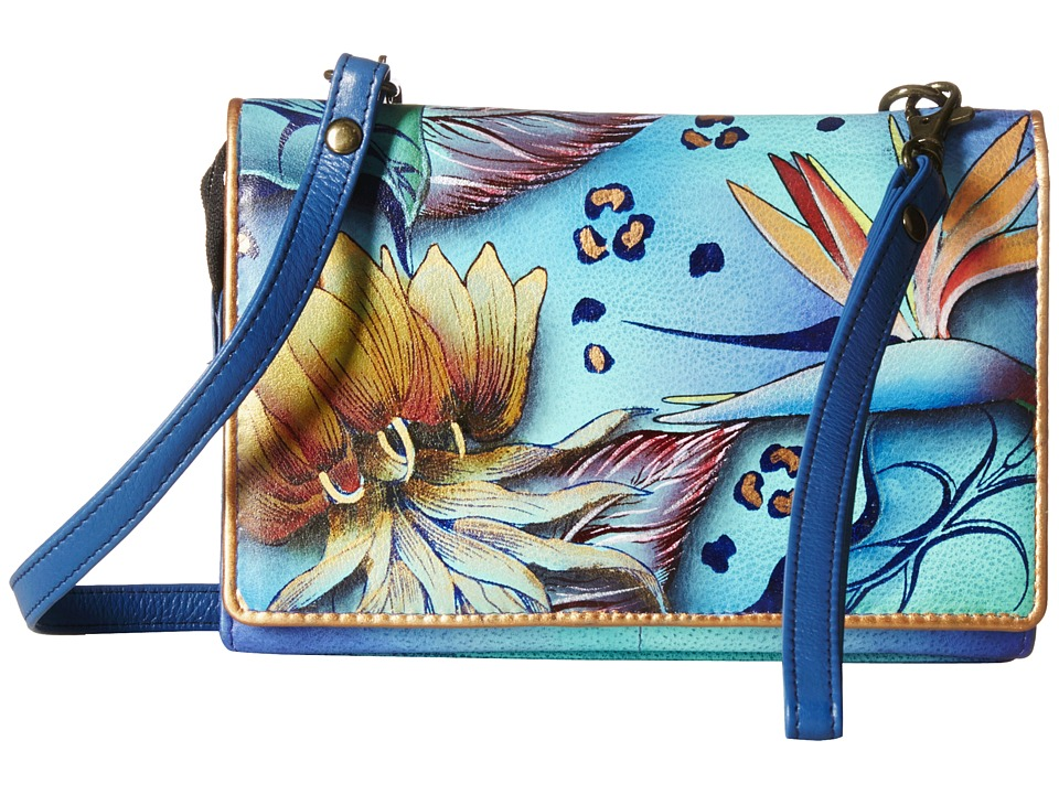Anuschka Handbags - 1128 (Tropical Dream) Cross Body Handbags