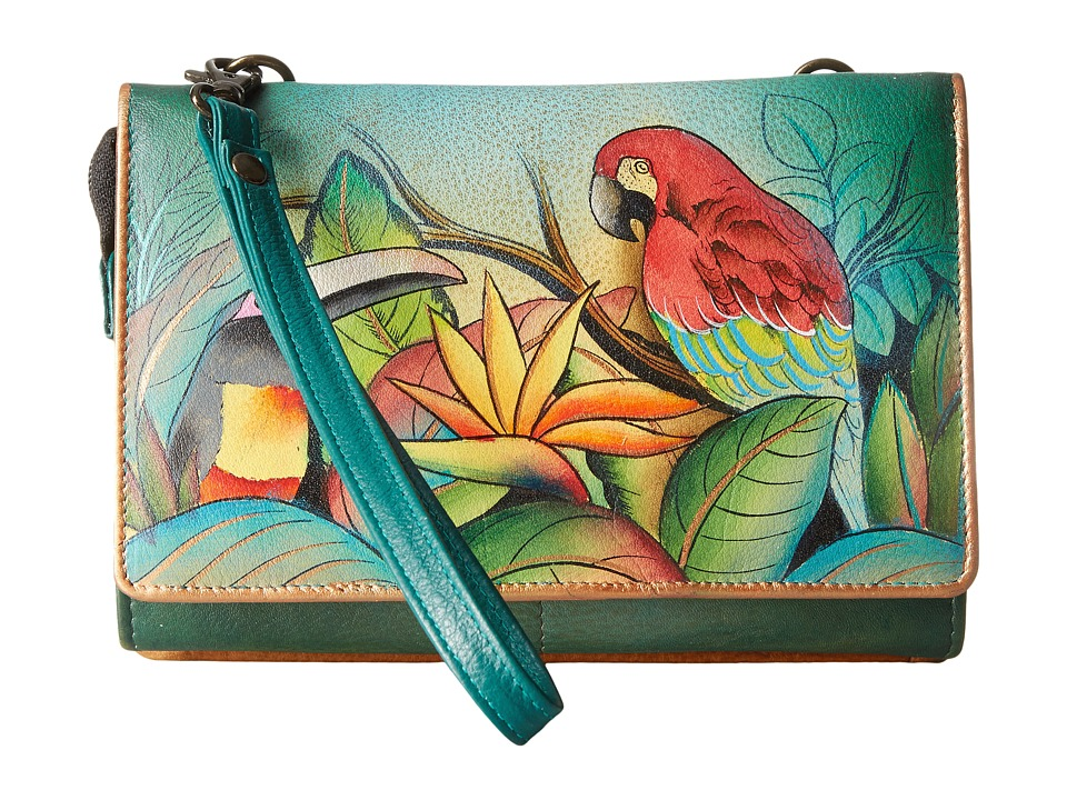 Anuschka Handbags - 1128 (Tropical Bliss) Cross Body Handbags