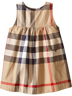Burberry Kids Della Dress (Infant/Toddler)   New Classic Check