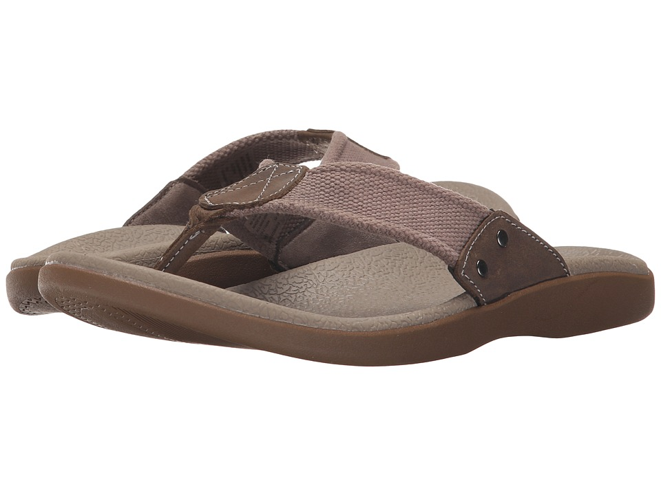 Dockers - Sundale (Taupe/Charcoal Cotton Webbing/Distressed Crazyhorse) Men