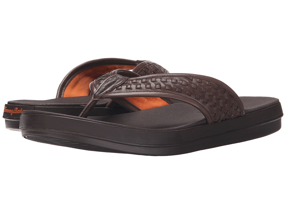 Tommy Bahama - Relaxology Woven Jonobi (Dark Brown) Men