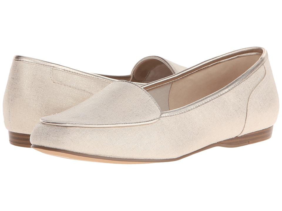 Bandolino Liberty Natural/Gold Fabric Womens Slip on Shoes