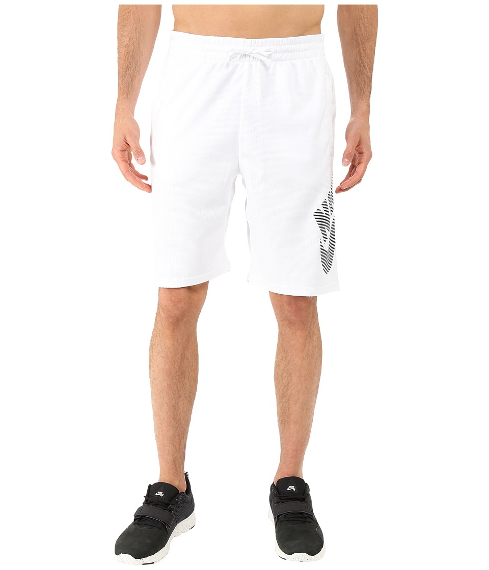 Nike SB SB Dri FIT Stripe Sunday Short White/Black Mens Shorts