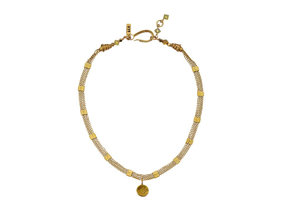 Vanessa Mooney The Flame Choker Necklace Brass Necklace