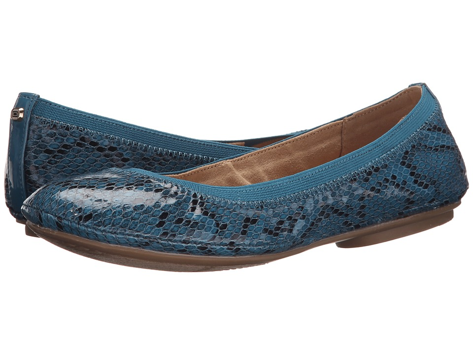 Bandolino Edition Teal Multi Synthetic Womens Flat Shoes