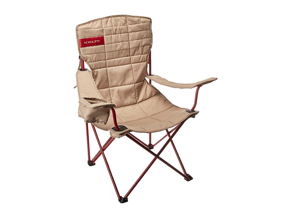 Kelty - Essential Chair (Tundra/Chili Pepper) Outdoor Sports Equipment