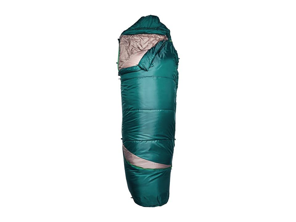 Kelty - Tuck Ex 40 Degree Sleeping Bag (Ponderosa Pine/Treetop) Outdoor Sports Equipment