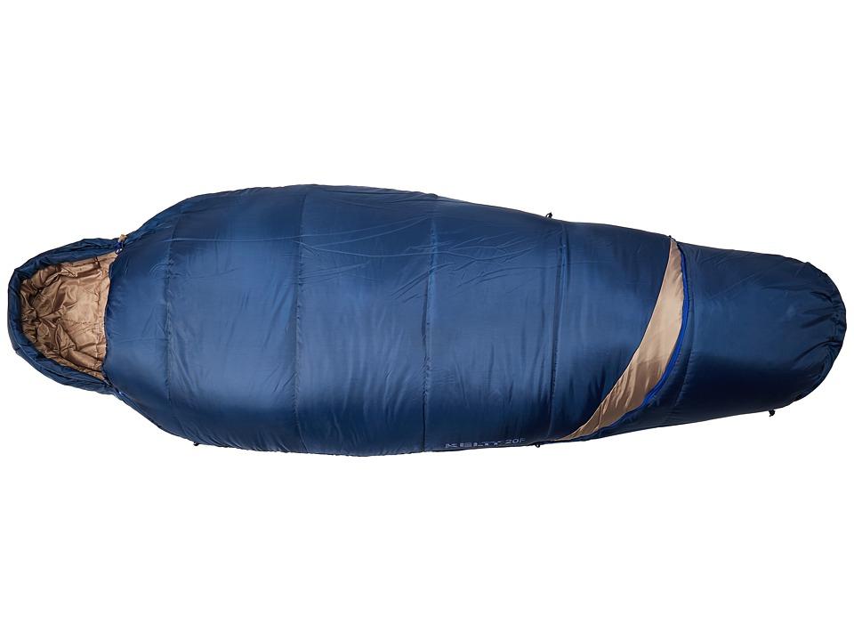 Kelty - Tuck Ex 20 Degree Sleeping Bag (Twilight/Classic Blue) Outdoor Sports Equipment