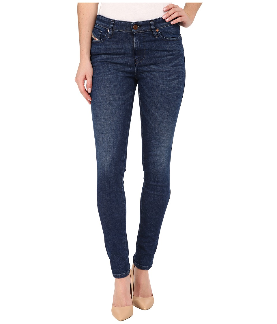 Diesel Skinzee Trousers in Denim 848L Denim Womens Jeans