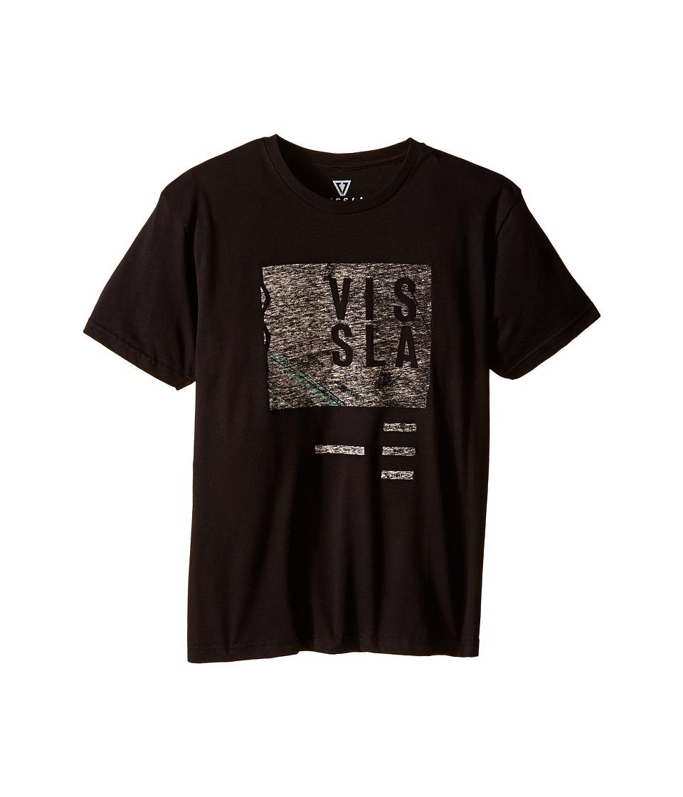 VISSLA Kids Welcome T Shirt Big Kids Black Boys T Shirt