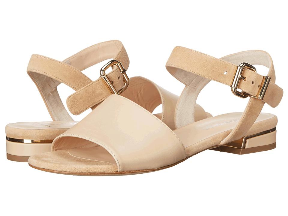 Aquatalia Alice Sand Suede Combo Womens Sandals