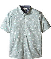 VISSLA Kids - Outer Pool Short Sleeve Woven Shirt (Big Kids)