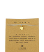 Dogeared - Little Button Make A Wish Necklace