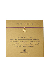 Dogeared - Best Friends Heart Make A Wish Necklace