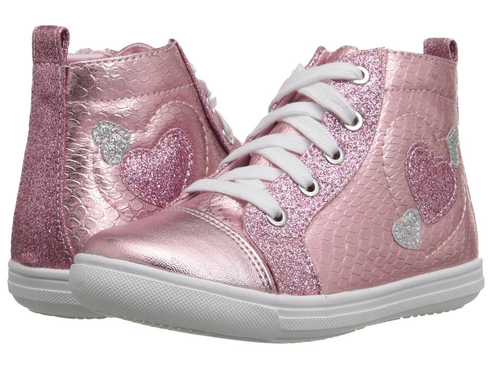 Rachel Kids Chiara Toddler/Little Kid Pink Metallic Girls Shoes