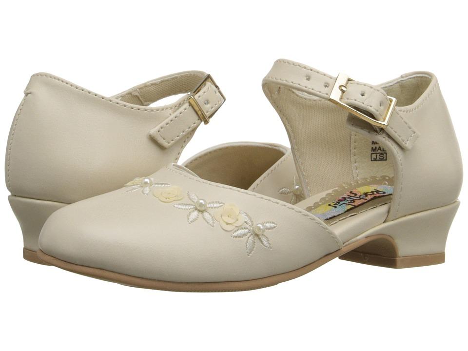 Rachel Kids Lil Isla Toddler/Little Kid Bone Smooth Girls Shoes