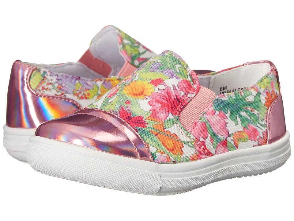 Rachel Kids Alessia 2 Toddler/Little Kid Pink Floral Girls Shoes