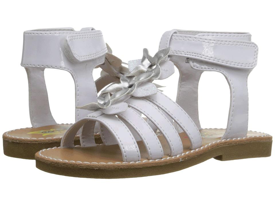 Rachel Kids Charleston Toddler/Little Kid White Patent Girls Shoes