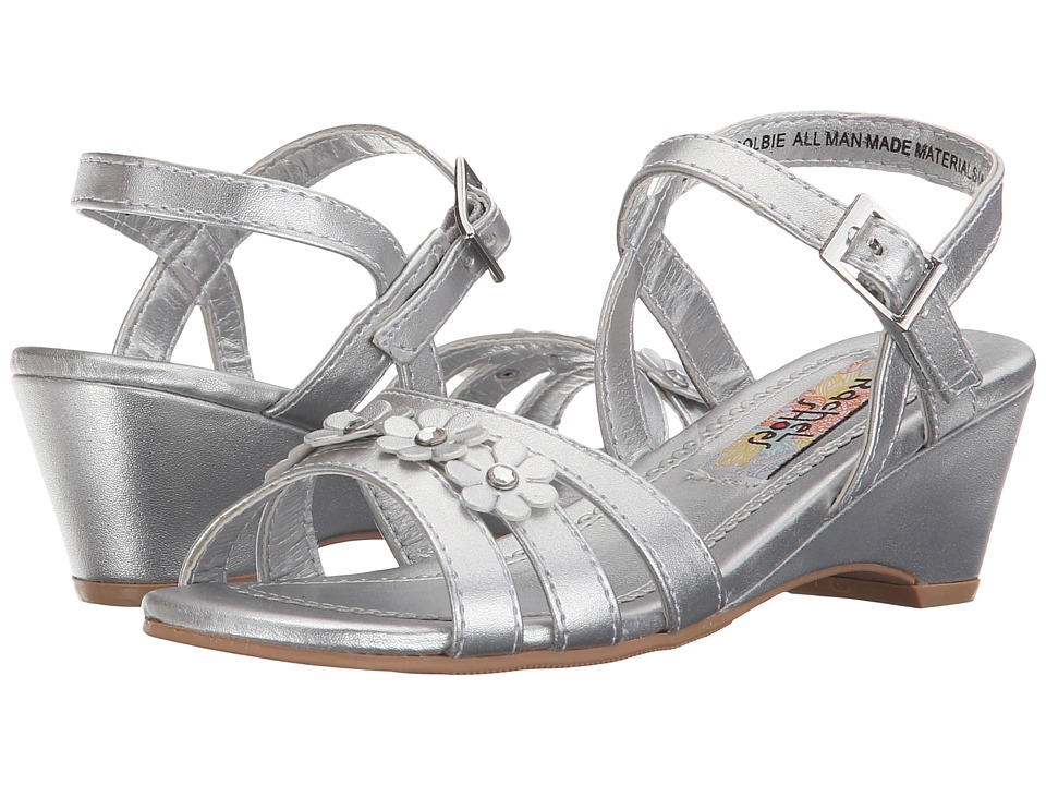 Rachel Kids Colbie Little Kid/Big Kid Silver Metallic Girls Shoes