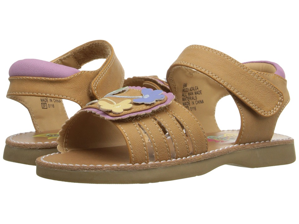 Rachel Kids Azalea Toddler Tan/Multi Girls Shoes