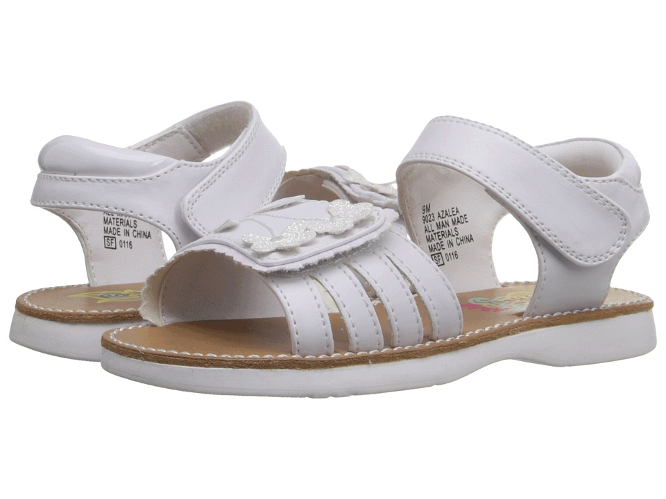 Rachel Kids Azalea Toddler White/White Girls Shoes