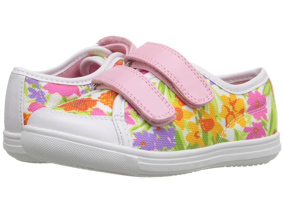 Rachel Kids Avril Toddler/Little Kid White/Multi Girls Shoes