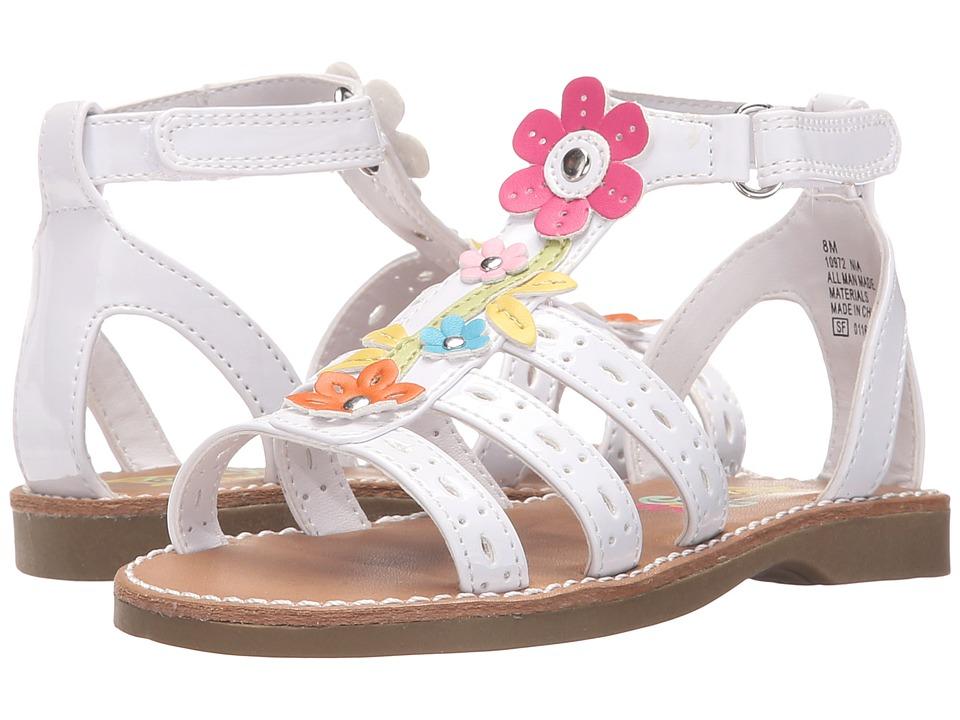 Rachel Kids Nia Toddler/Little Kid White/Multi Girls Shoes