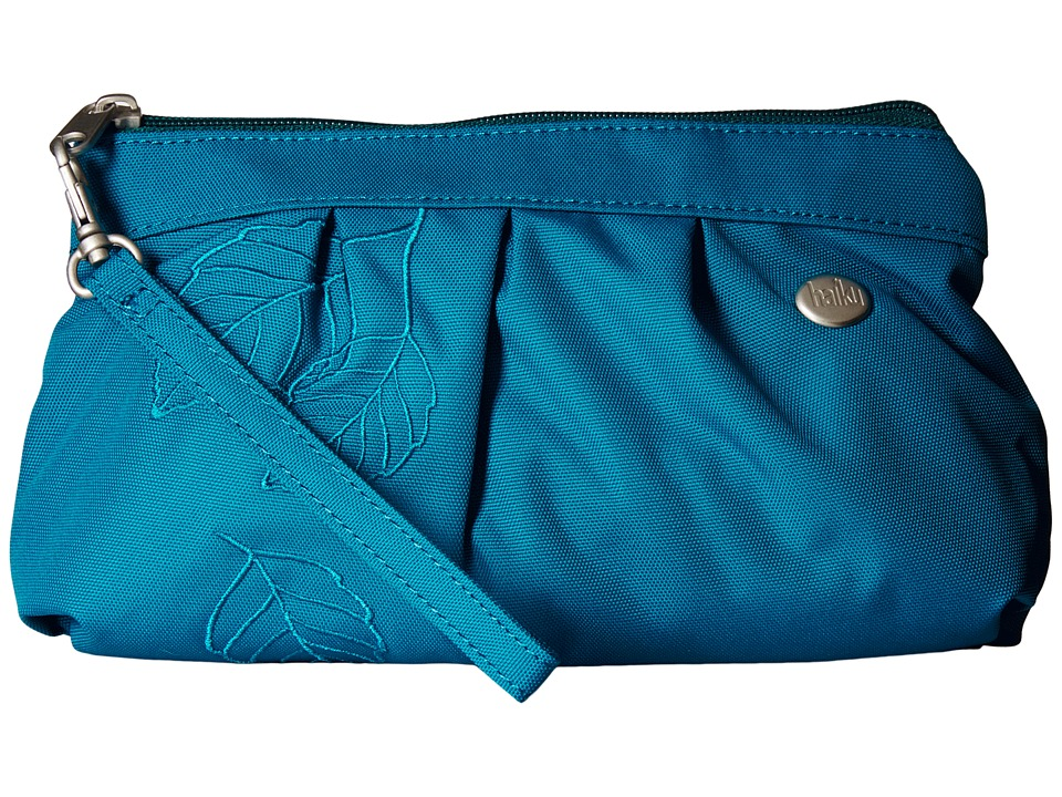 Haiku Breeze Sea Blue Clutch Handbags