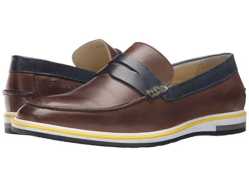 Cycleur de Luxe Forano Dark Brown/Navy Mens Shoes