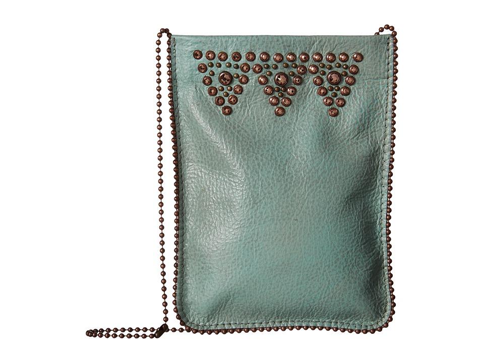 Leatherock - CP56 (Turquoise) Cross Body Handbags