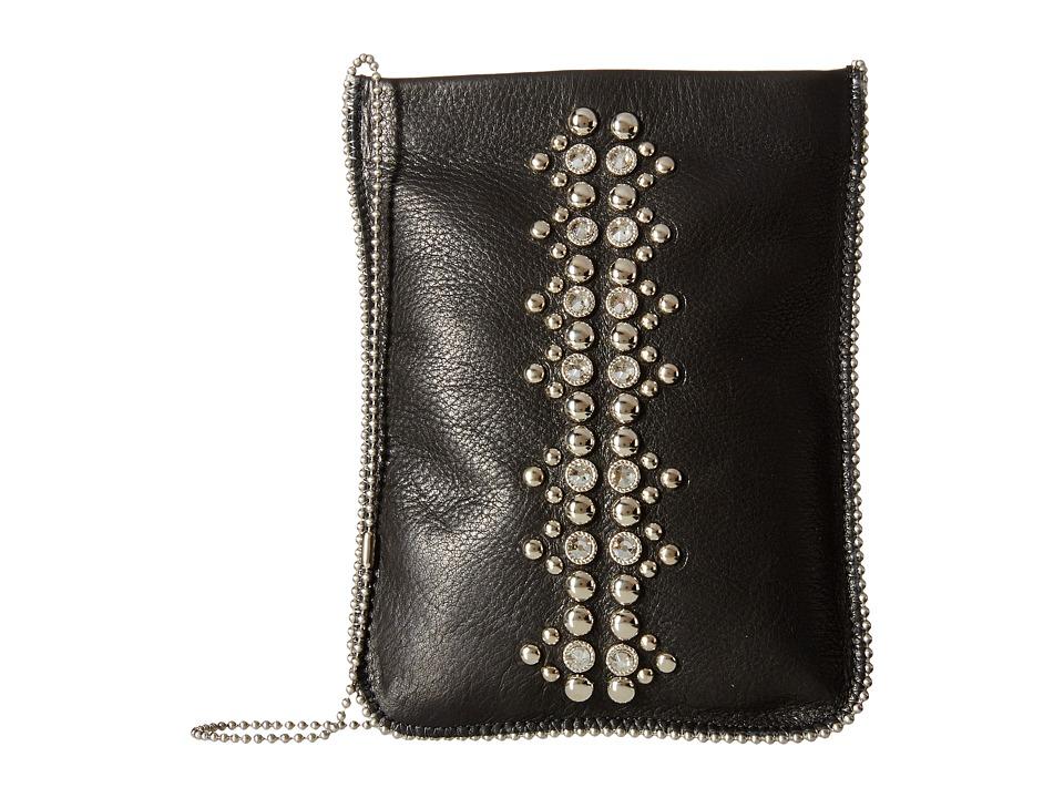 Leatherock - CP64 (Black) Cross Body Handbags