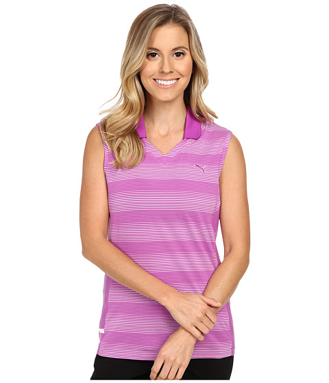 PUMA Golf Dense Stripe Sleeveless